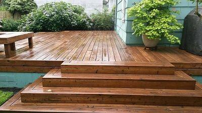 Backyard Patio Deck