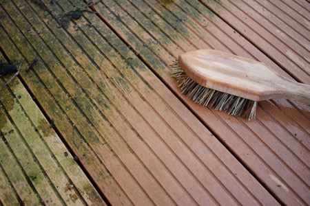 Deck Brushing