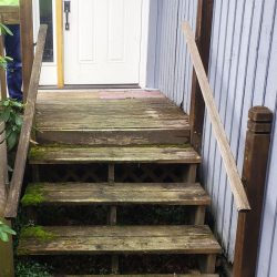 2019 Vancouver Anataliy Project Stairs Before